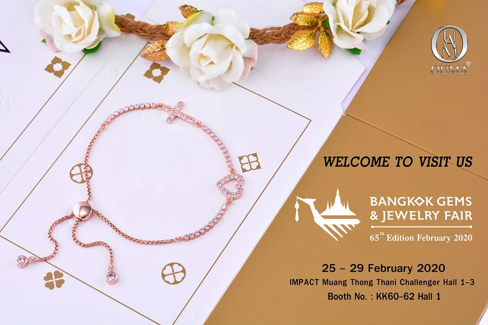 The 64th Bangkok Gems & Jewelry 25 Feb. - 29 Feb. 2020