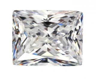 Cubic Zirconia - Rectangle - White (RECTP)