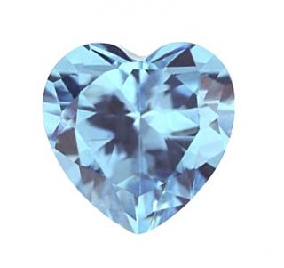 Synthetic Spinel - Heart - #106 (HS)
