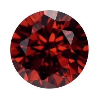 Synthetic Ruby - Corundum Round - red #8 (RS)